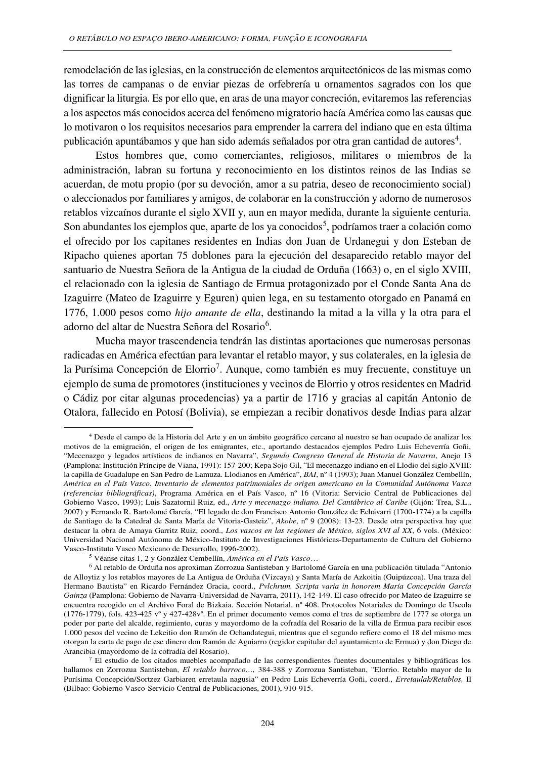 O Ret Bulo No Espa O Ibero Americano 1 Volume By Instituto De  # Muebles Eguren Lekeitio