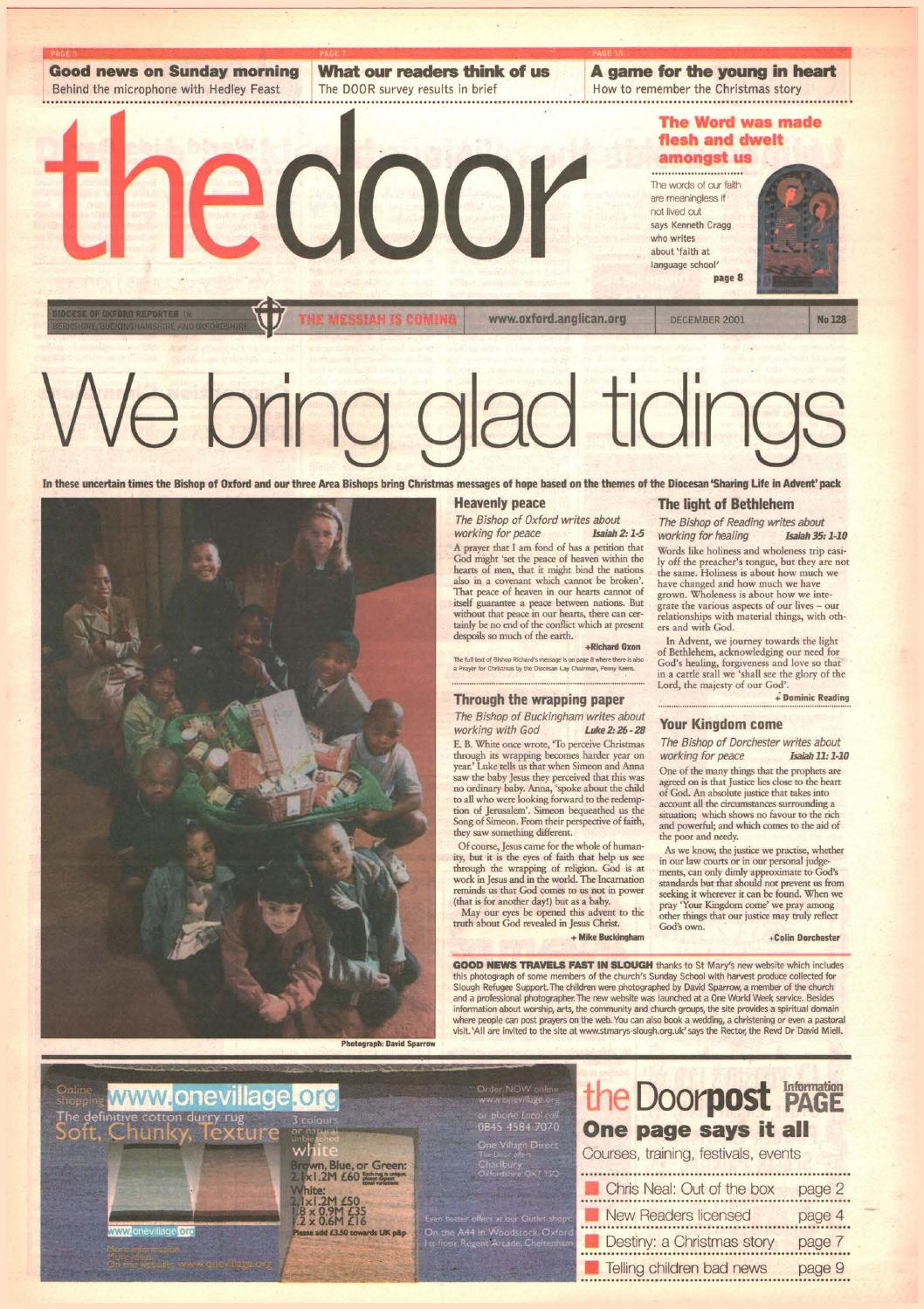 128 December 2001 By Diocese Of Oxford Issuu