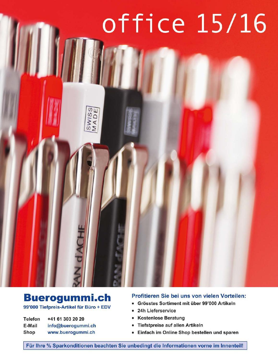 Buromaterial Burobedarf Katalog Von Www Buerogummi Ch By Www