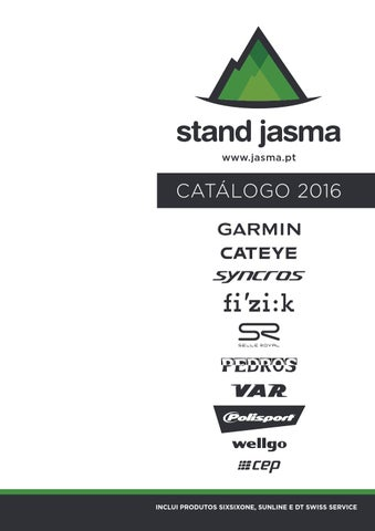 28ac360a155 Catálogo Jasma 2016 by Stand Jasma - issuu