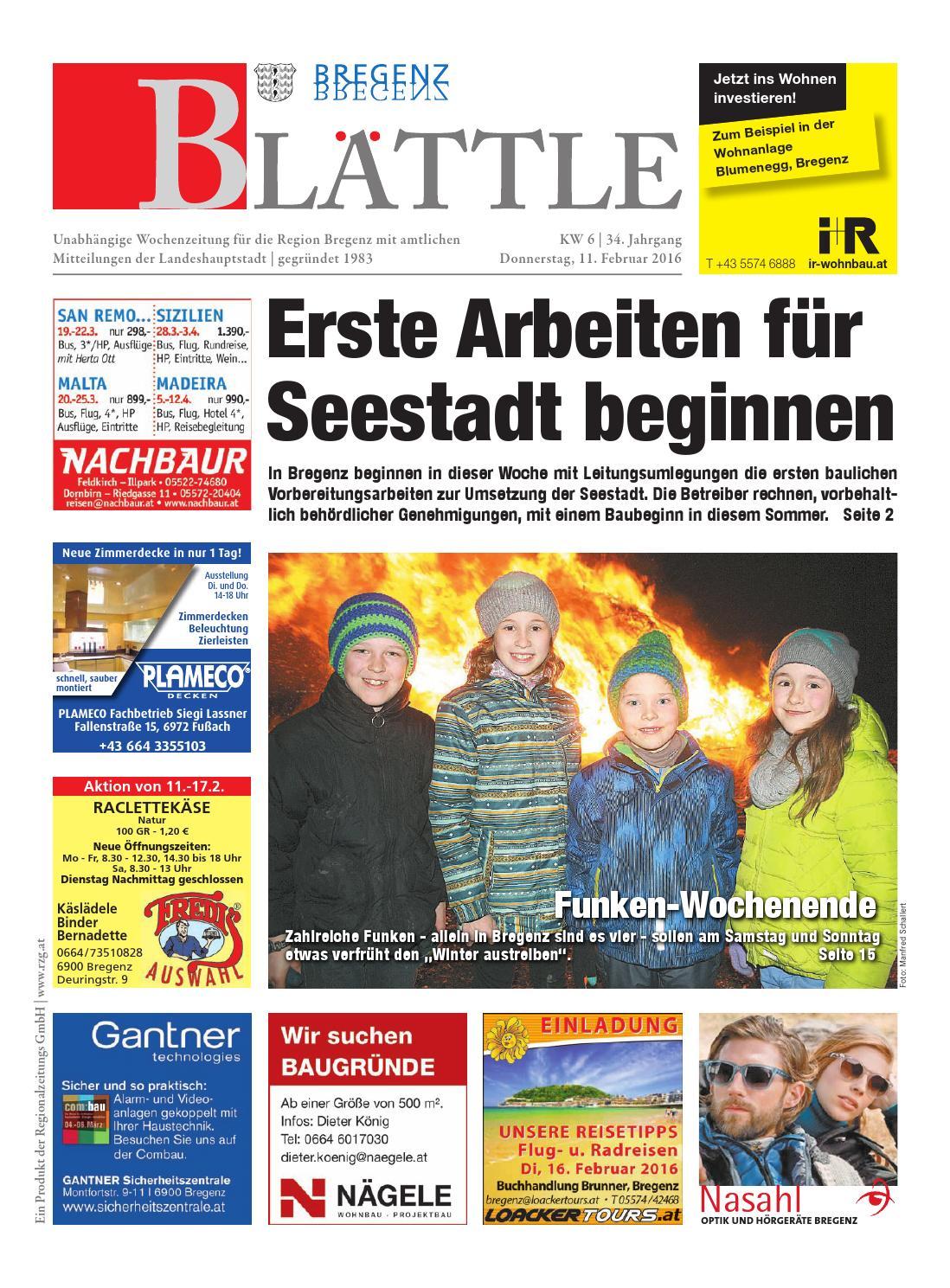 bregenzer blaettle 06 by regionalzeitungs gmbh - issuu, Einladungen
