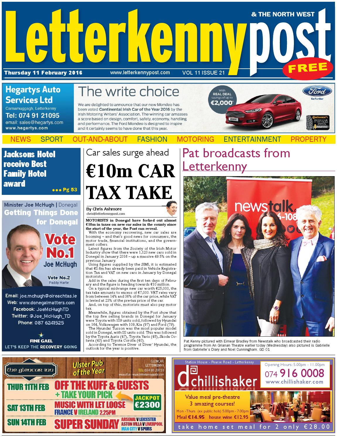 Letterkenny Post 11 02 16 By River Media Newspapers Issuu