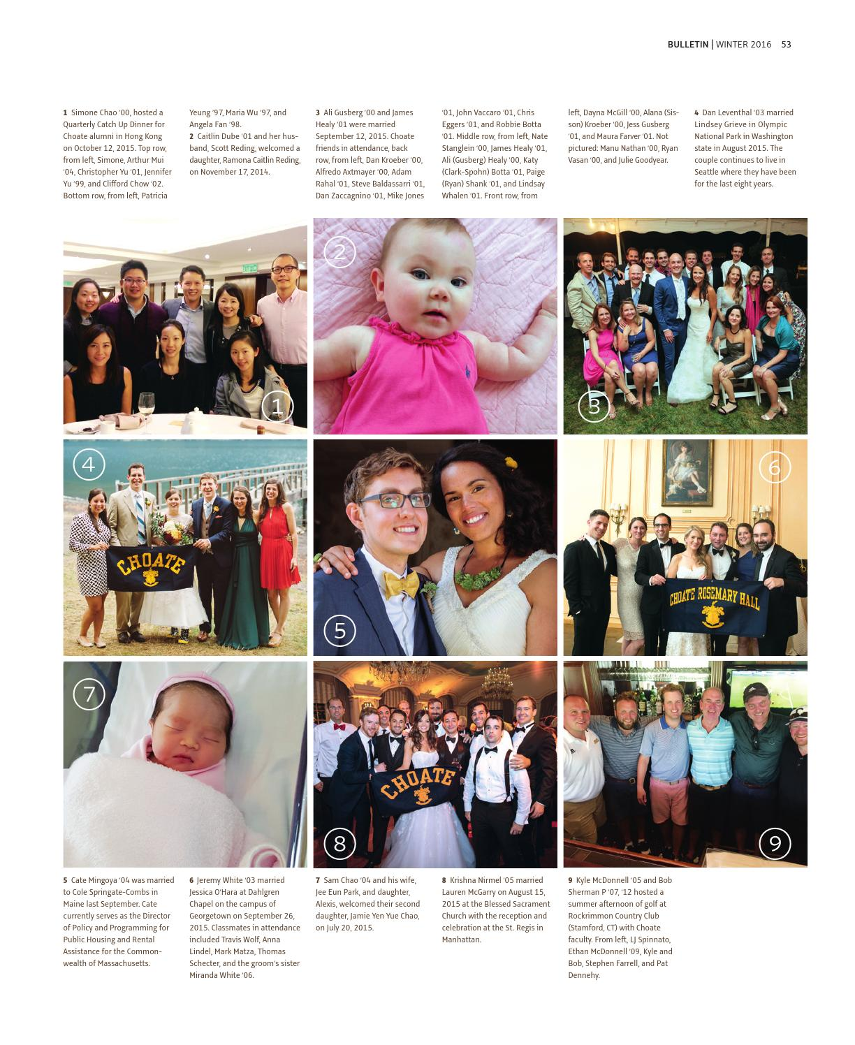 Choate Rosemary Hall Bulletin | Winter '16 by Choate