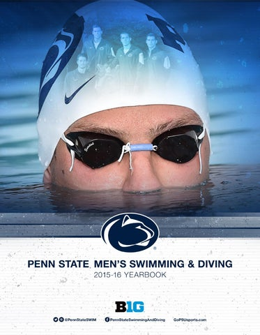 2015 16 Penn State Men S Swimming Amp Diving Yearbook By