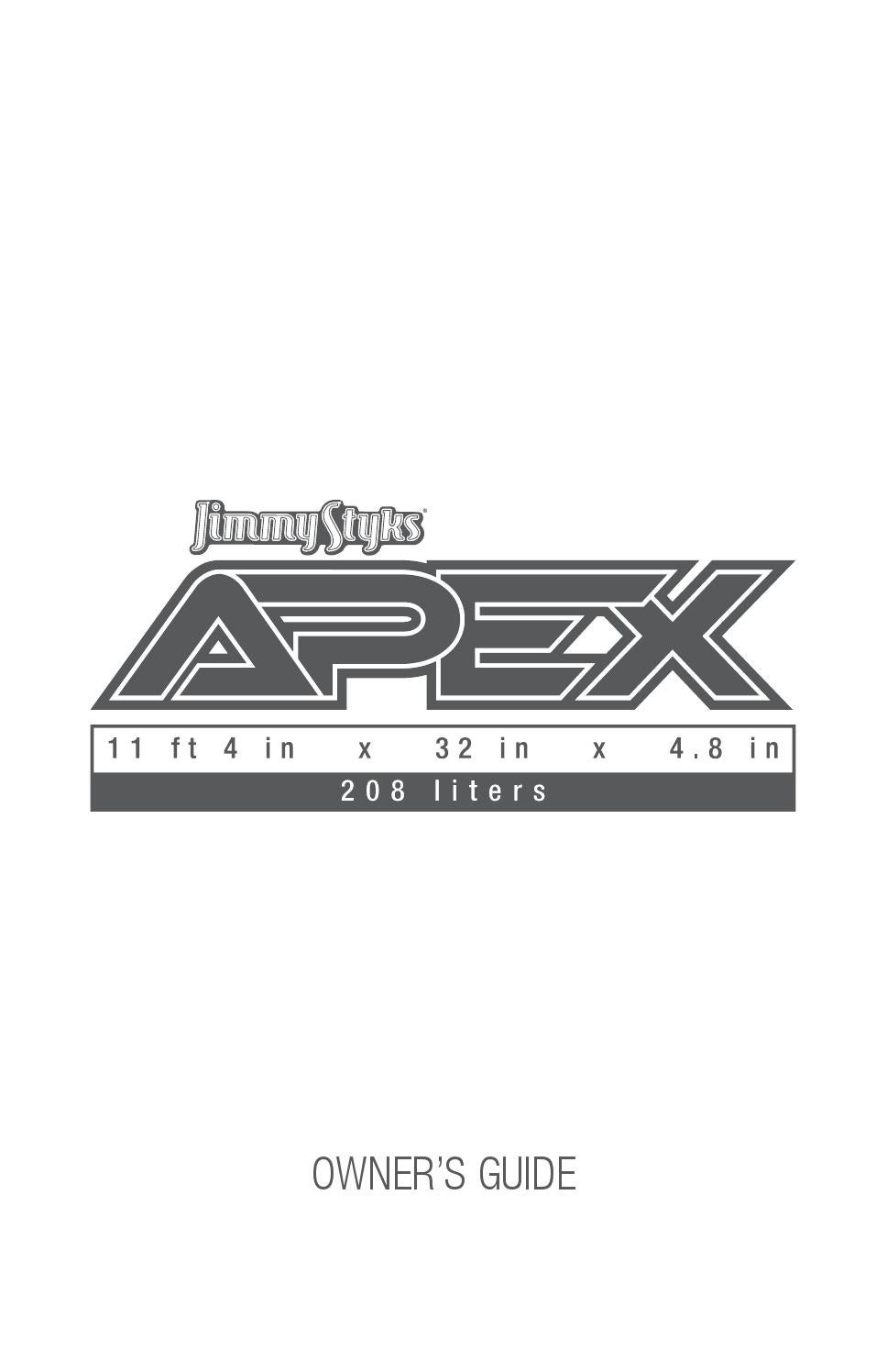 2016 Apex Hybrid By Jimmy Styks Issuu