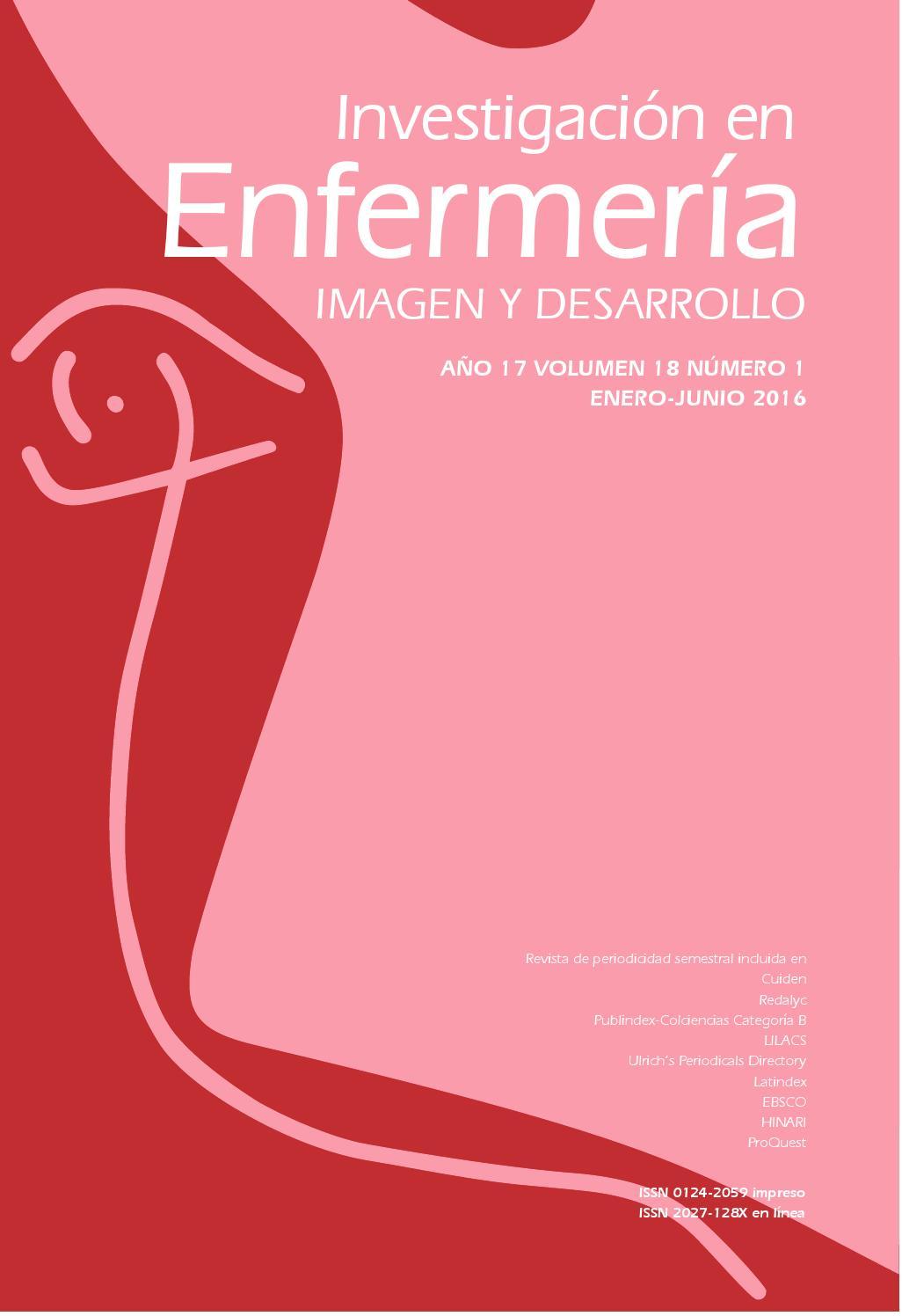 Revista Investigación en Enfermería #18-1 by Editorial Pontificia ...