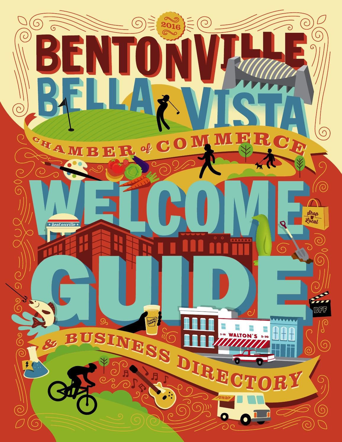 2016 Bentonville/Bella Vista Chamber of Commerce Welcome Guide ...