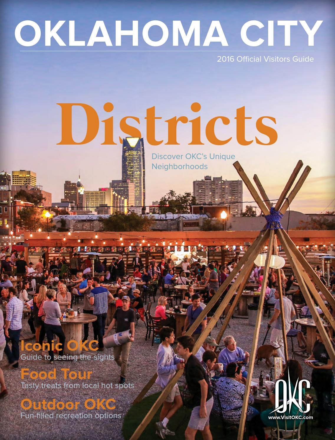 2016 oklahoma city visitors guide by oklahoma city convention visitors bureau issuu. Black Bedroom Furniture Sets. Home Design Ideas