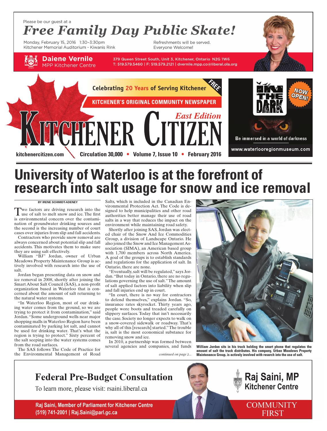 Kitchener Citizen - East Edition - February 2016 by Kitchener ...