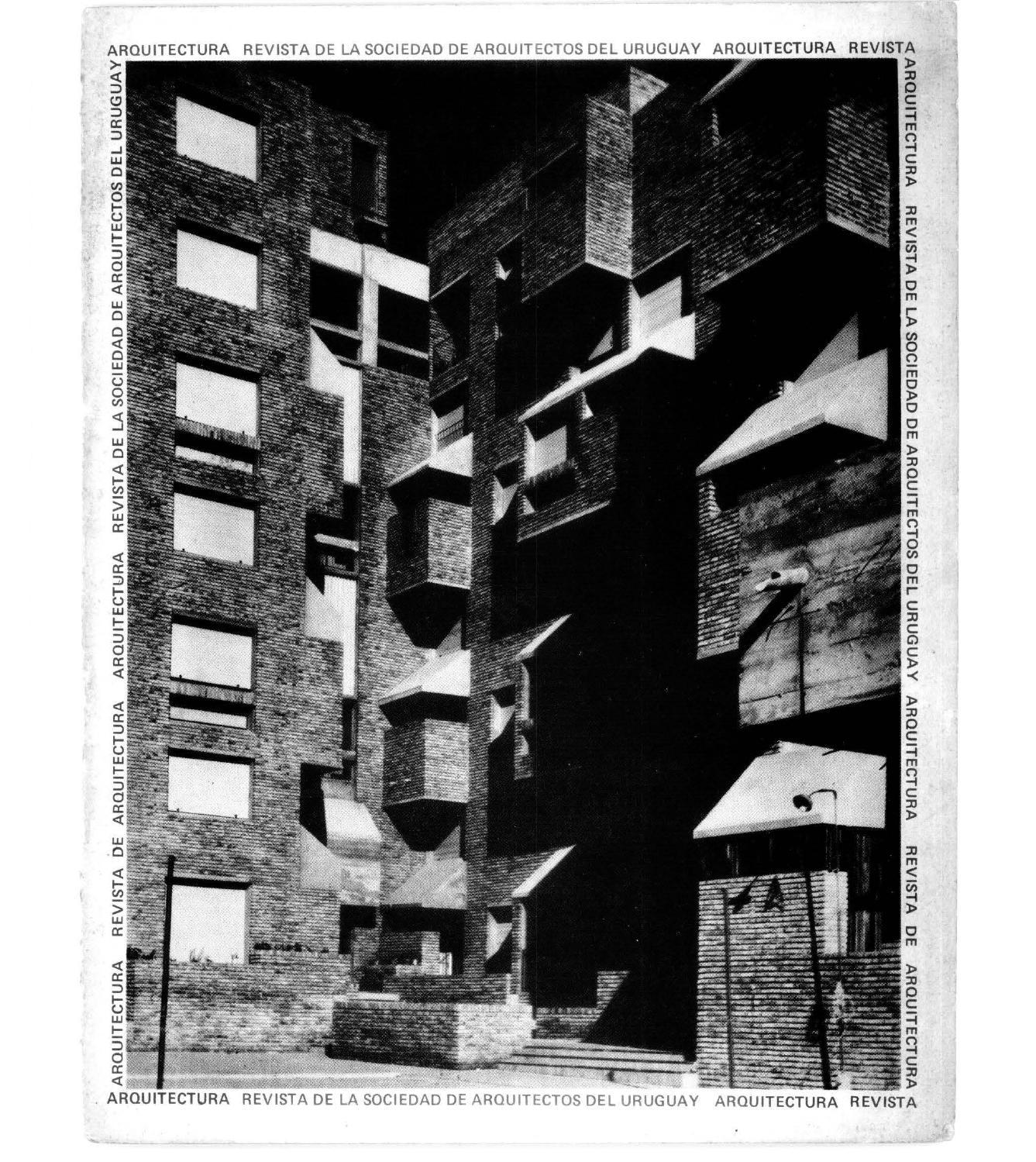 Arquitectura 243 1977 by sociedad de arquitectos del uruguay sau issuu - Sociedad de arquitectos ...