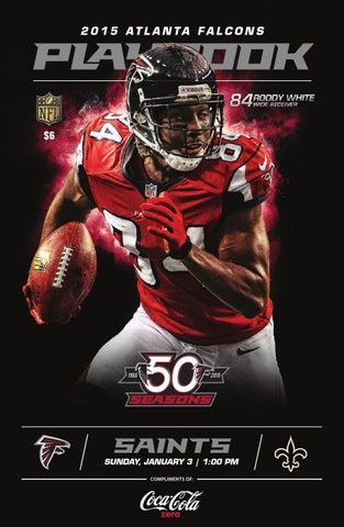 Atlanta Falcons Gameday Guide 2015 by DJ Blalock - issuu 544b3d42246
