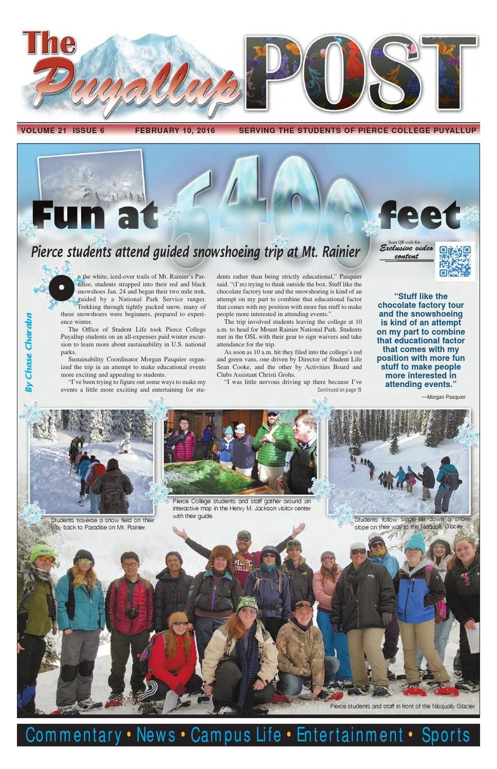 The Puyallup Post Volume 21 Issue 6 February 10 2016 By The