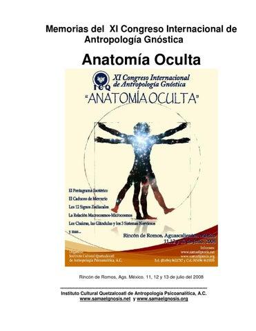 Anonimo anatomia oculta memorias 2008 by @ ml - issuu