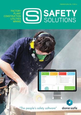 Safety Solutions Feb/Mar 2016 by Westwick-Farrow Media - issuu