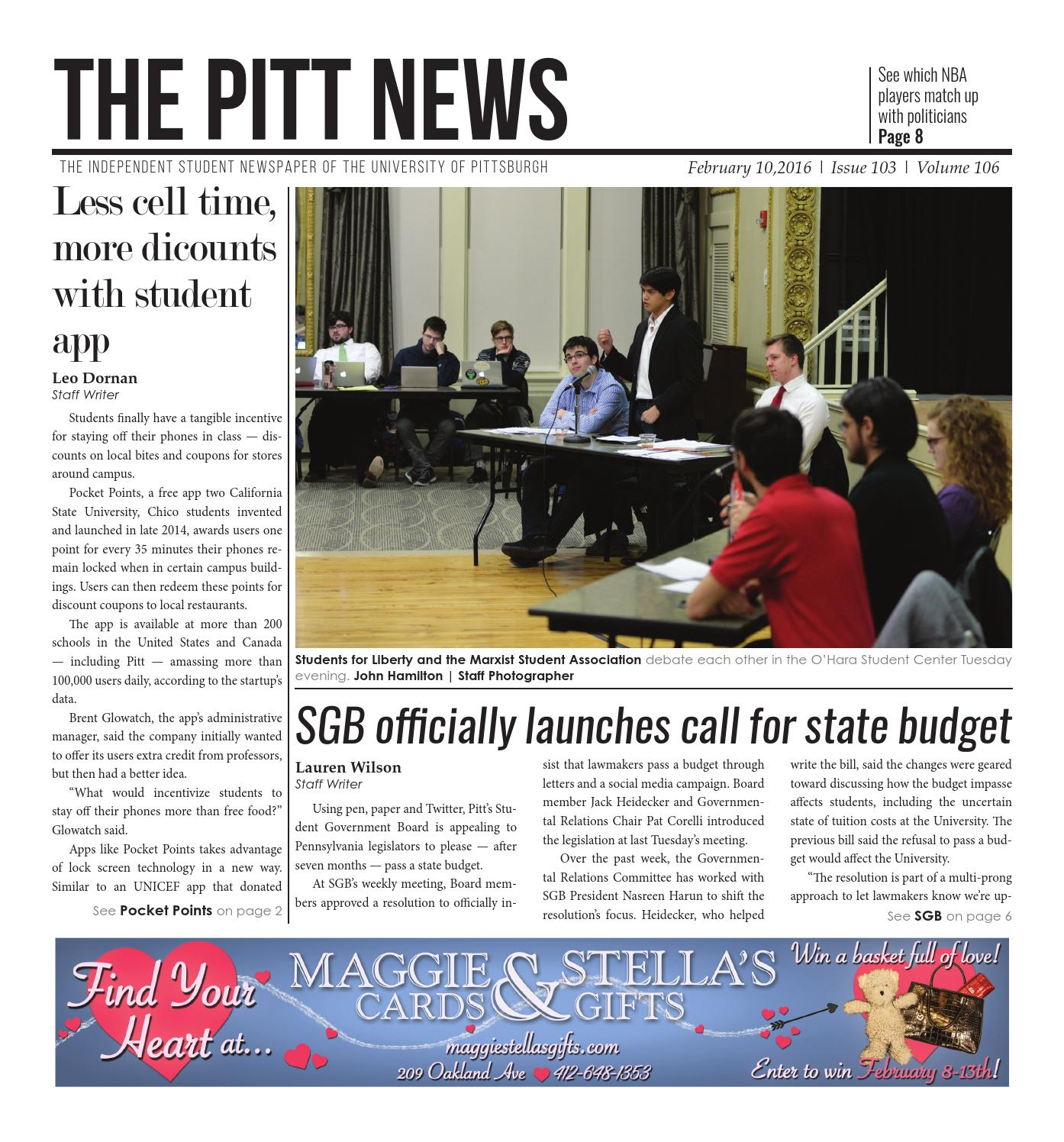 2-10-16 by The Pitt News - issuu