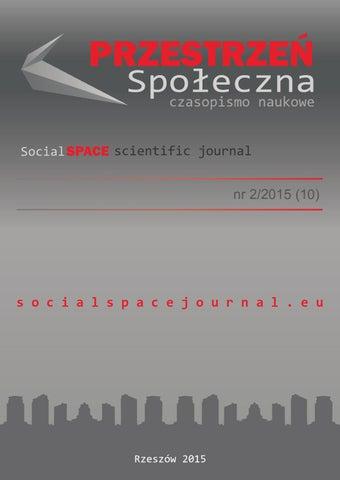 ea491bd2568393 Przestrzeń Społeczna (Social Space) nr 2/2015(10) by Jaroslaw Kinal ...