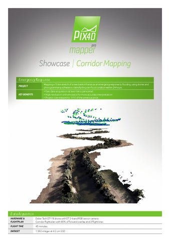 Corridor Mapping with Pix4D by Pix4D Marketing - issuu