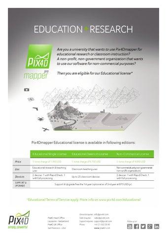 Pix4Dmapper Educational License by Pix4D Marketing - issuu
