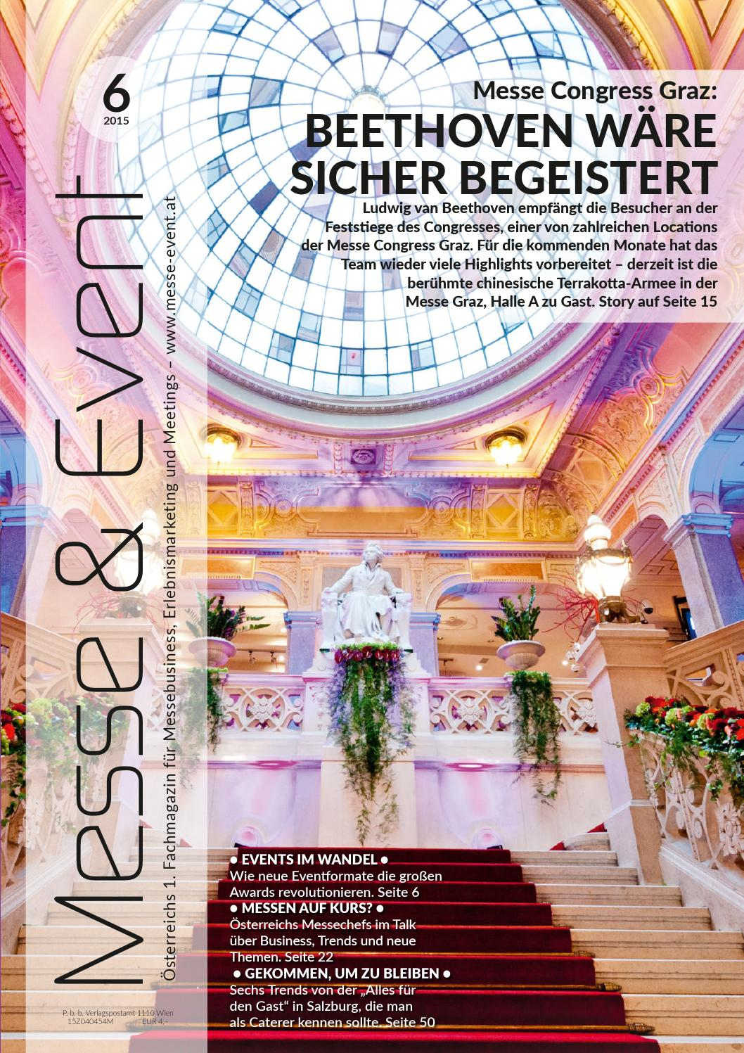 Messe & Event 6/2015 by Messe & Event Magazin - issuu