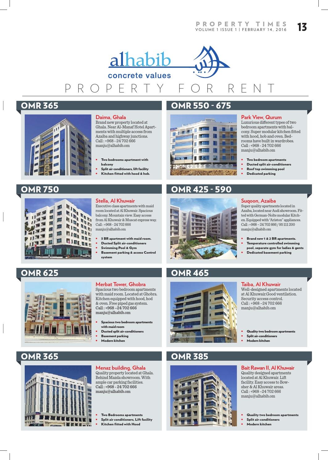Property Times of Oman by Muscat Media Group - issuu