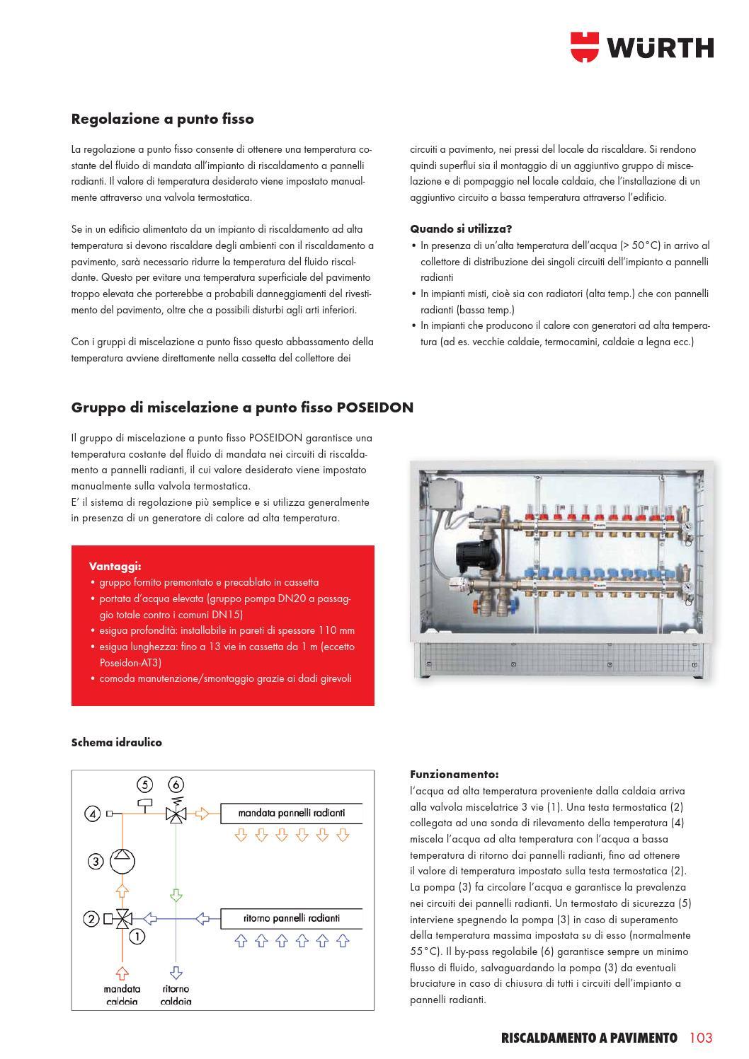 Temperatura Caldaia Impianto A Pavimento wurth termotecnica manuale tecnico by würth italia - issuu