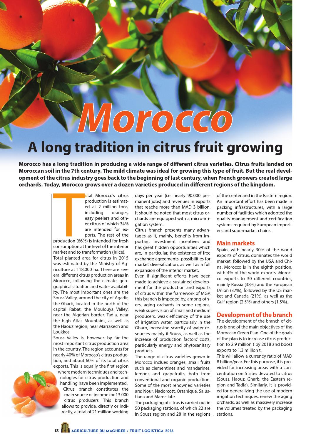 Fruit logistica 2016 by AGRICULTURE MAGHREB - issuu