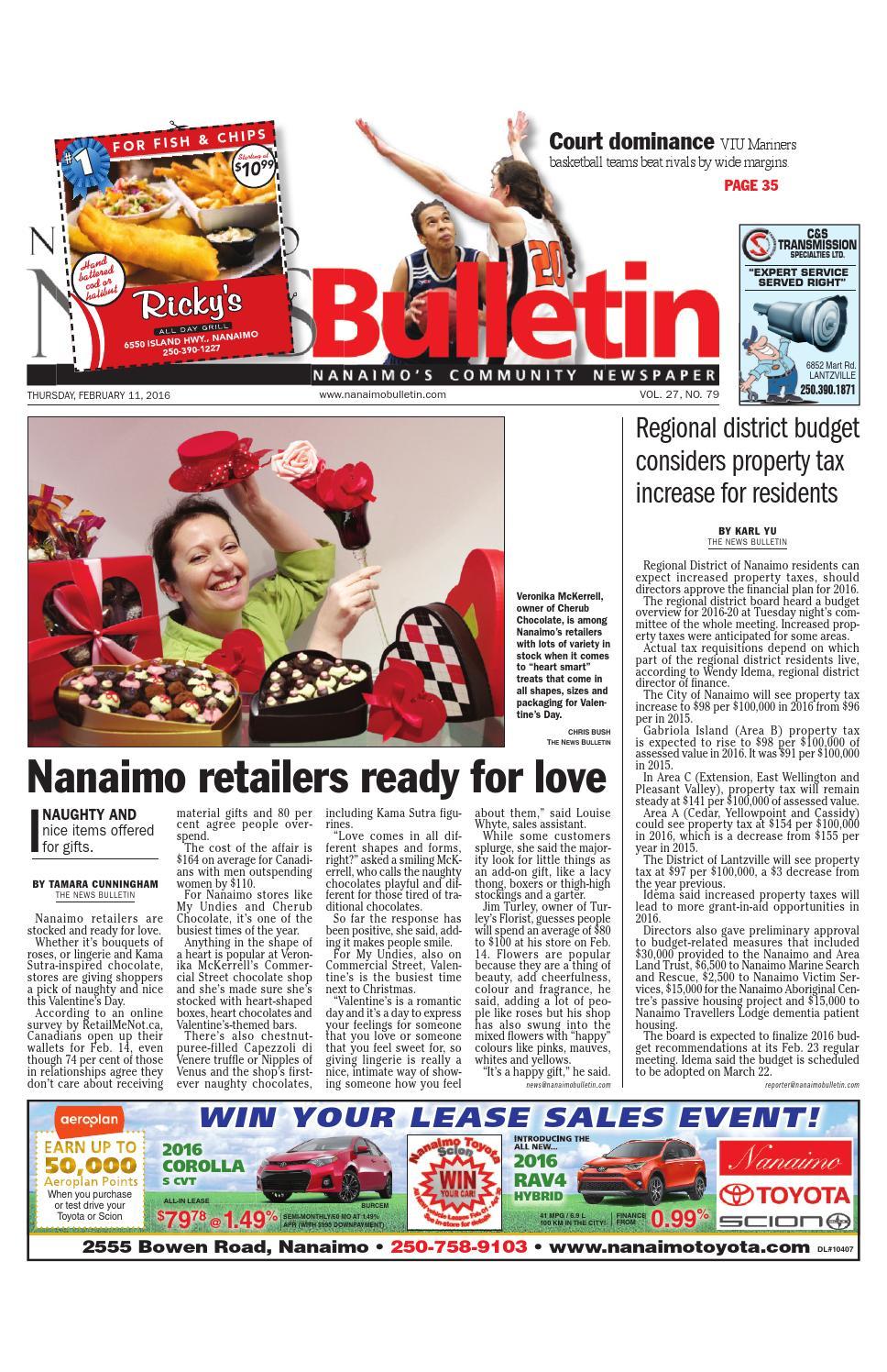 Bathmaster Nanaimo nanaimo news bulletin, february 11, 2016black press - issuu