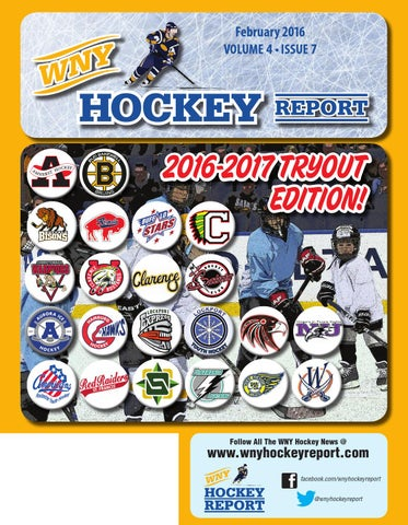 WNY Hockey Report February 2016 by WNY Hockey Report - issuu