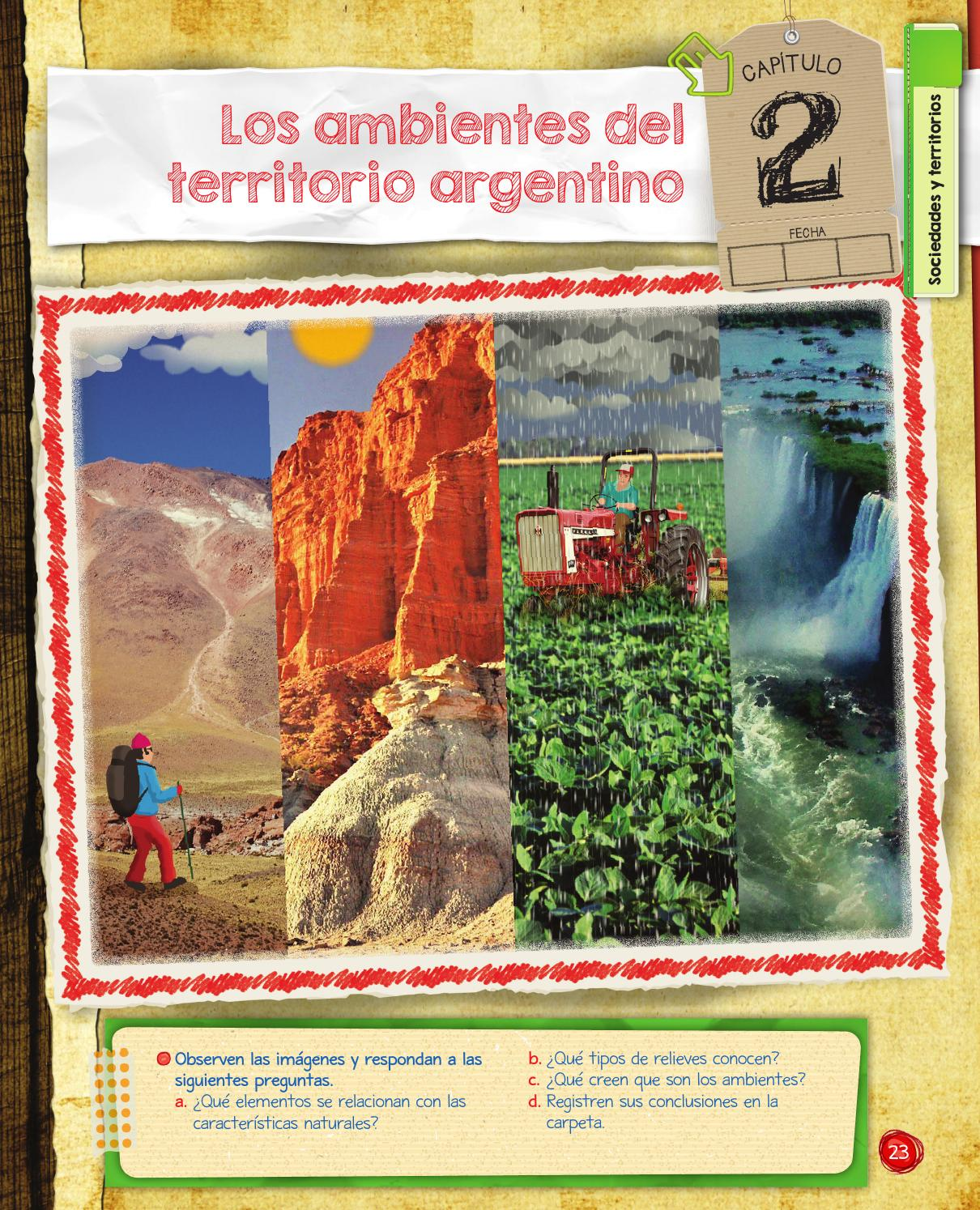 Soc5bon capitulo 2 by macmillan publishers s a issuu for Ambientes de argentina