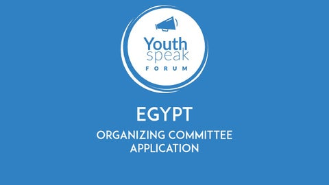YouthSpeak Forum Application by AIESEC Egypt - issuu