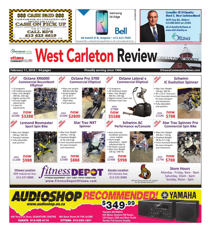 Westcarleton021116 by Metroland East West Carleton Review