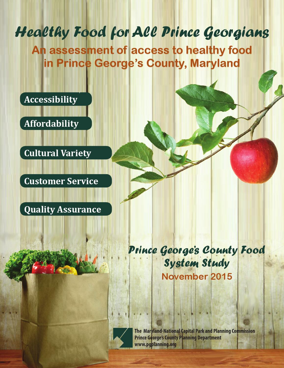 Food System Study By Maryland National Capital Park Planning Ume Eco 360 Case Xiaomi Redmi 4 Prime Commission Issuu