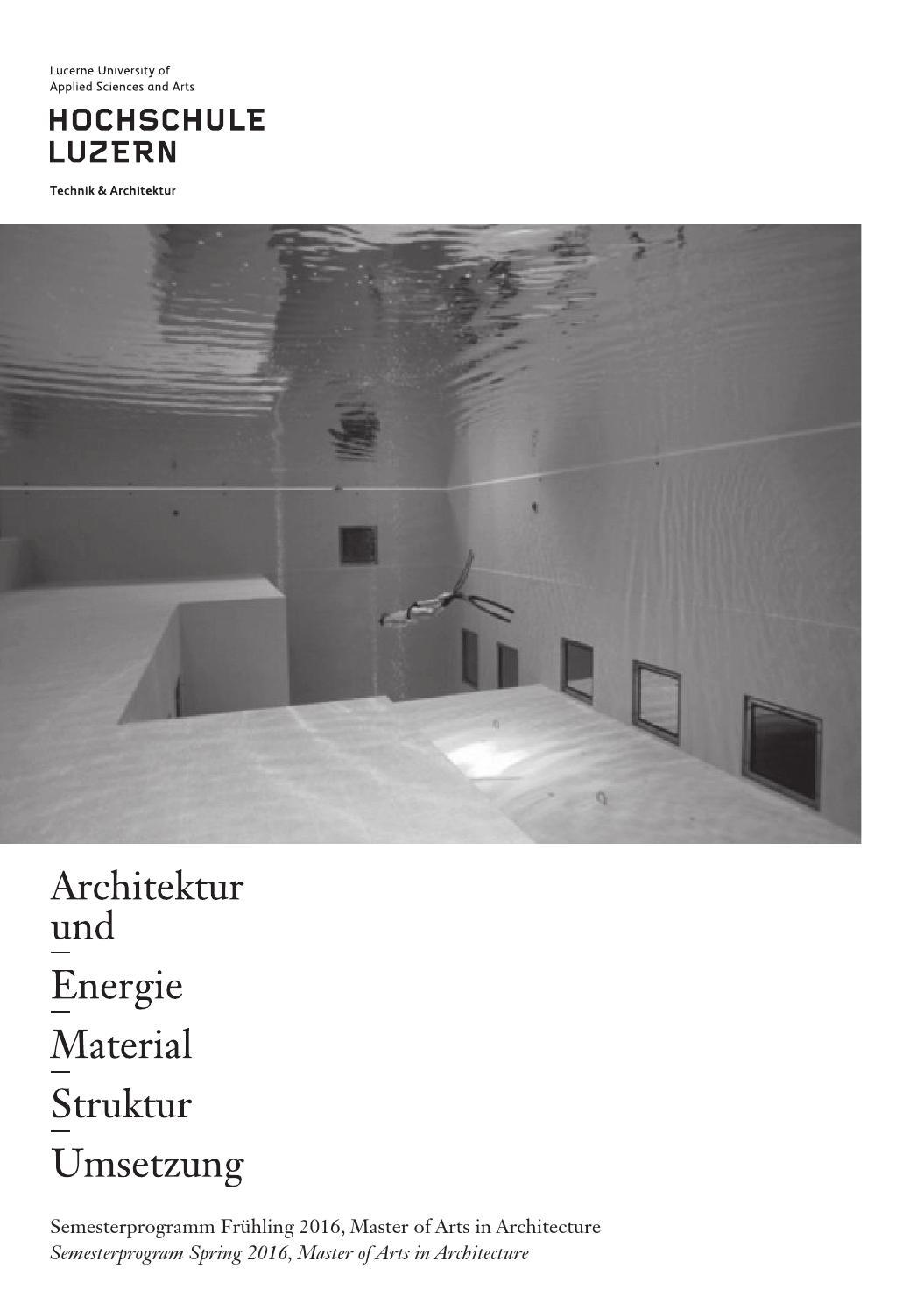 160211 fs16 reader by master architektur issuu for Master architektur