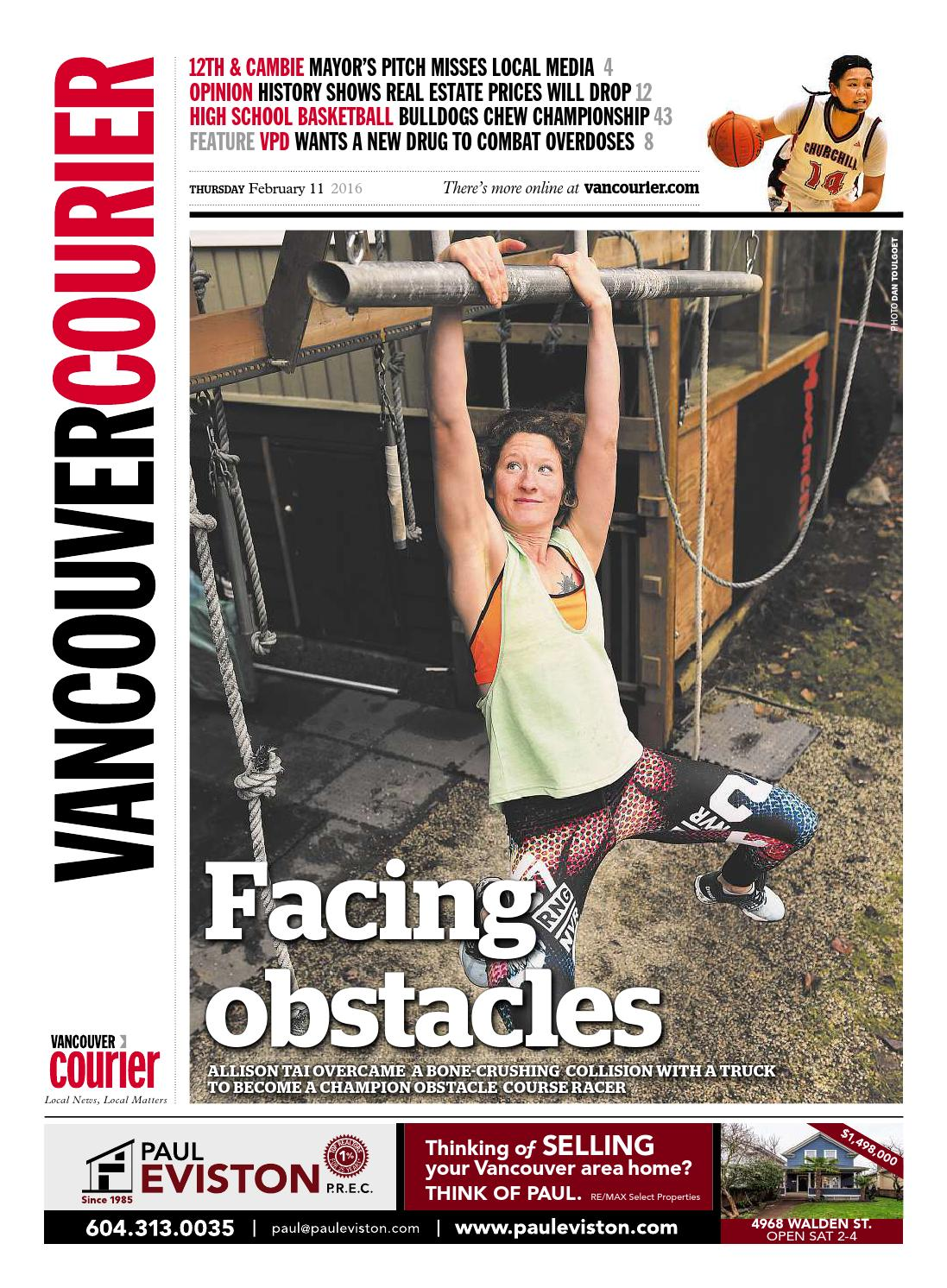 Vancouver Courier February 11 2016 By Issuu Eiger New Sweat Confident 02 Black K65917