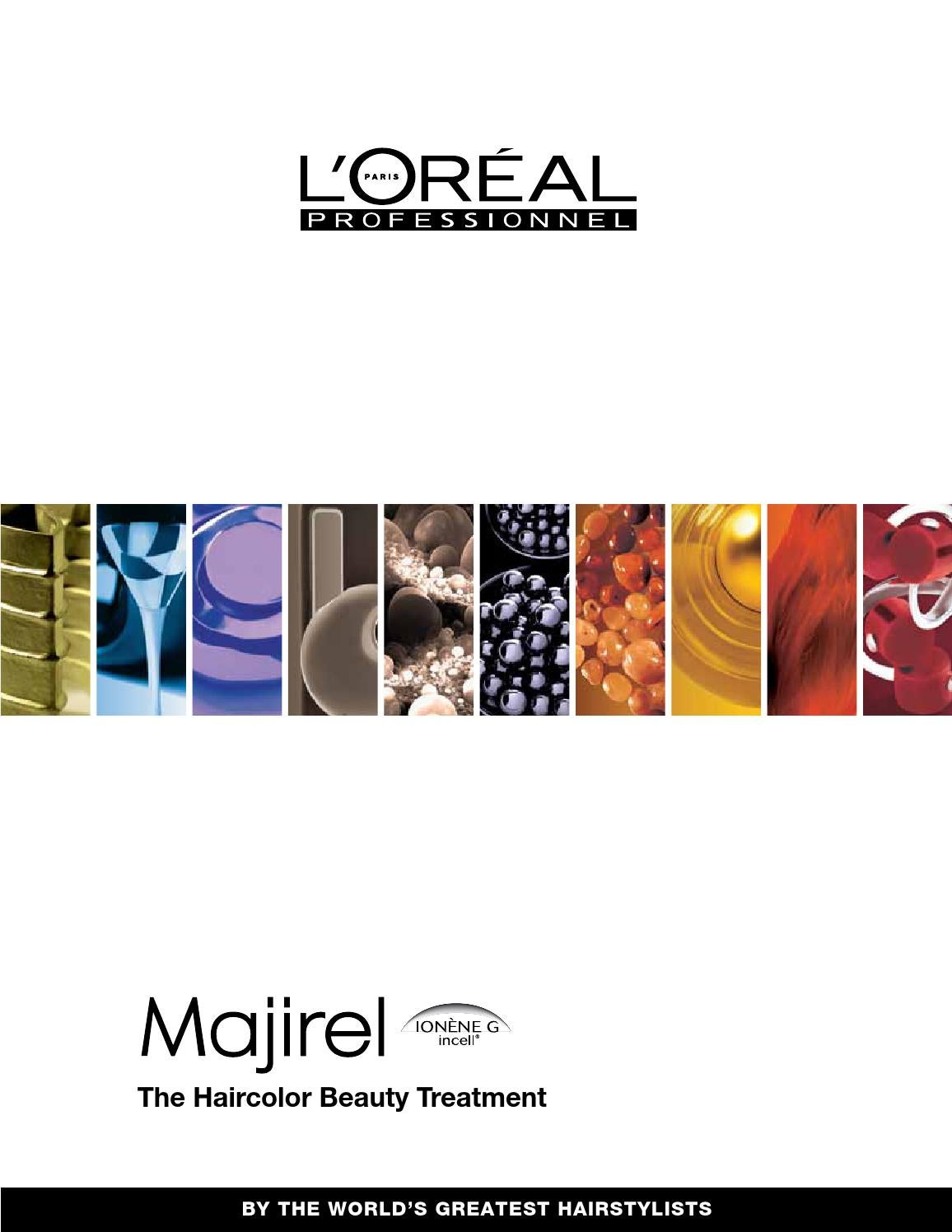 Majirel colour chart - Majirel Colour Chart 48