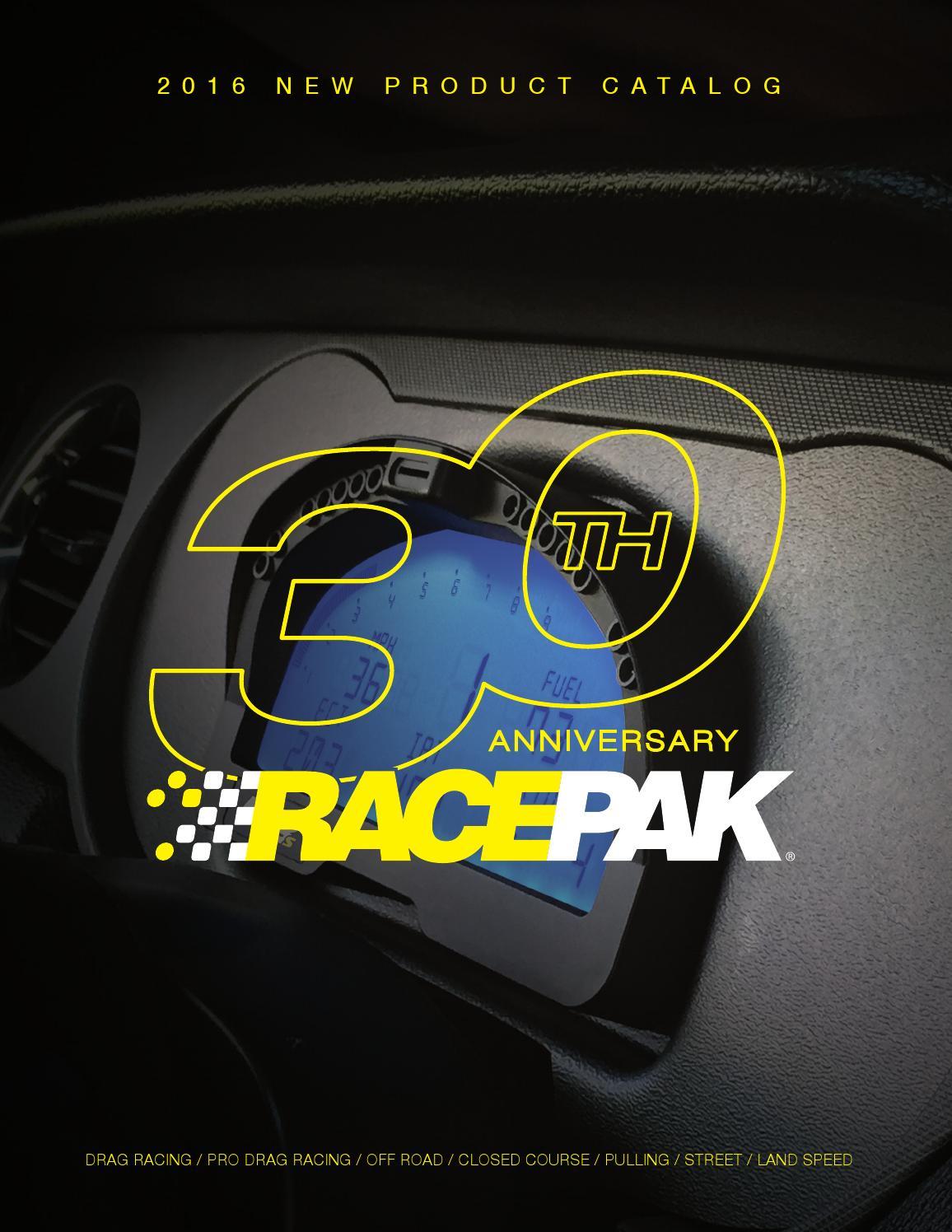 Racepak 2016 New Products by Racepak - issuu