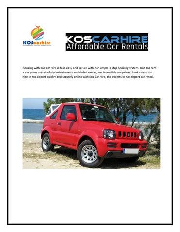 Car Rental Rhodes By Koscarhire Issuu