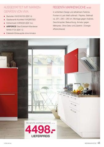 Regenta Kuchen Magazin By Europa Mobel Verbund Gmbh Issuu