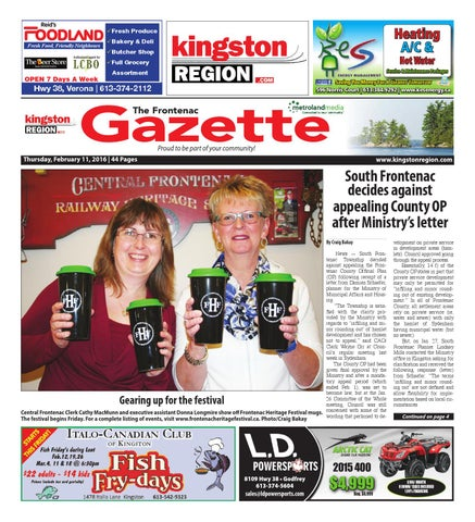 Frontenac 021116 by Metroland East Frontenac Gazette issuu