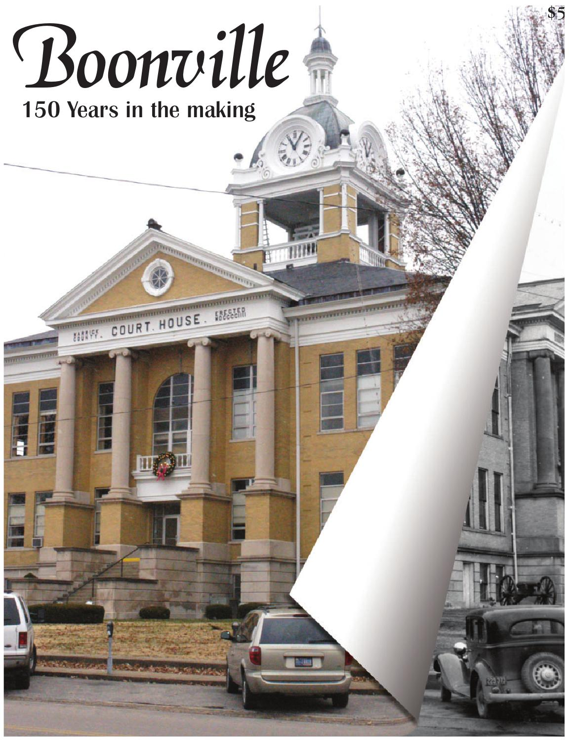 Boonville 150 years in the making by Warrick Publishing