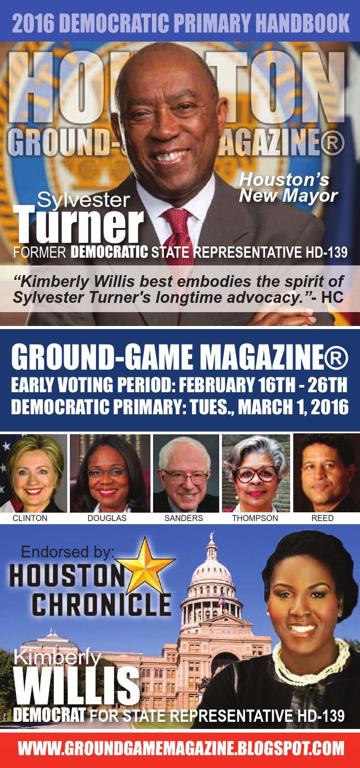 District judge 174th judicial district - Ground Game Magazine Volume 1 No 38 Featuring Kimberly Willis For State Rep House District 139 By Aubrey R Taylor Communications Issuu