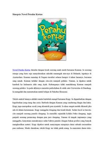 Novel Perahu Kertas Format Pdf