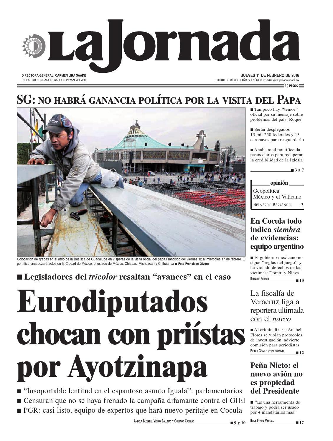 La Jornada, 02/11/2016 by La Jornada: DEMOS Desarrollo de Medios ...