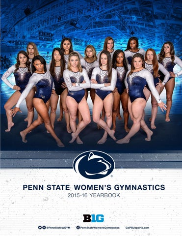 2015 16 Penn State Womens Gymnastics Yearbook By Penn State