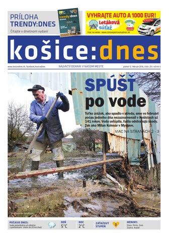 e9a6e6055a610 košice:dnes 12.2. 2016 by KOŠICE:DNES - issuu