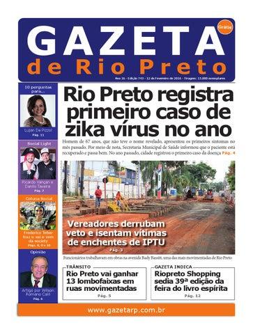 Gazeta de Rio Rreto 743 - 12 02 2016 by Social Light - issuu 78b7aaa53cc