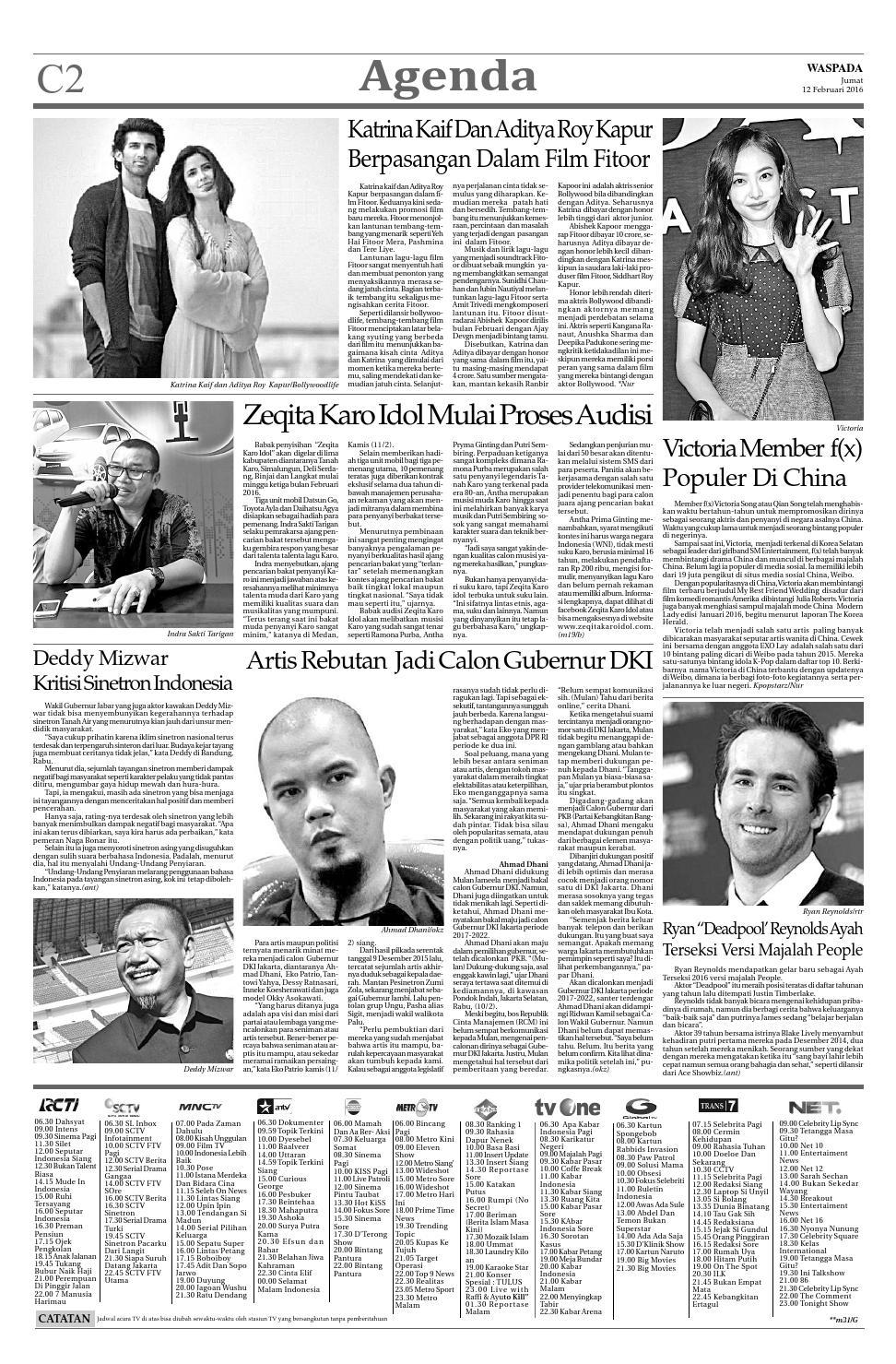 Waspada, jumat 12 februari 2016 by Harian Waspada - issuu