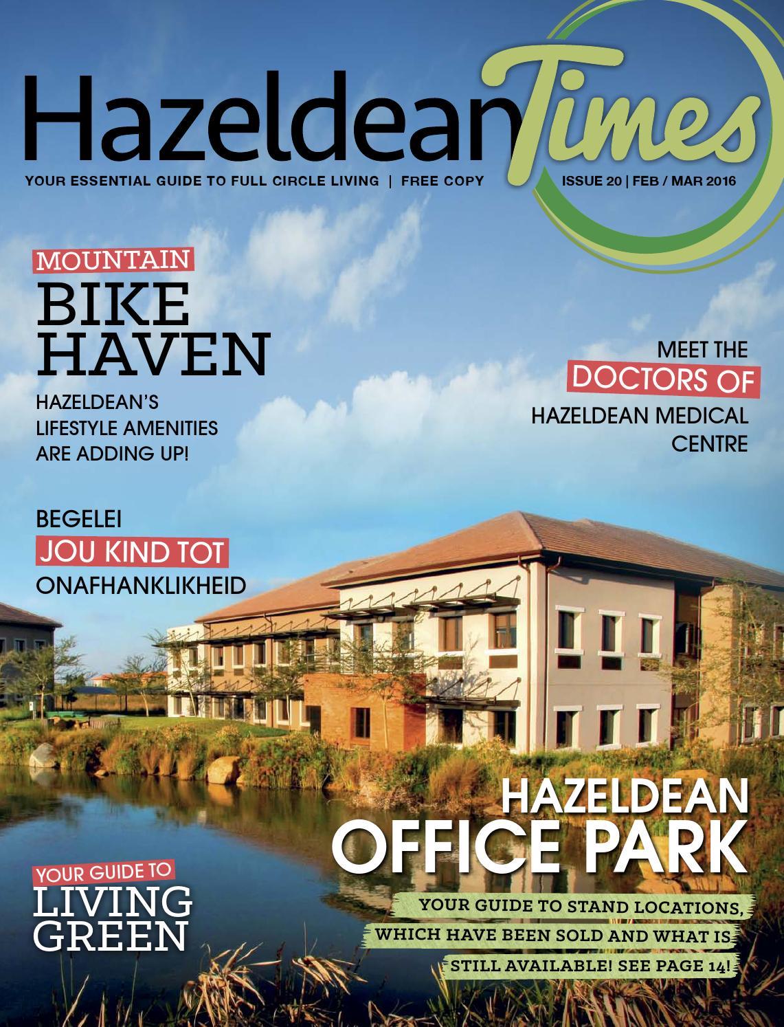 Hazeldean Times Issue 20 2016 by Abnormal Marketing - issuu