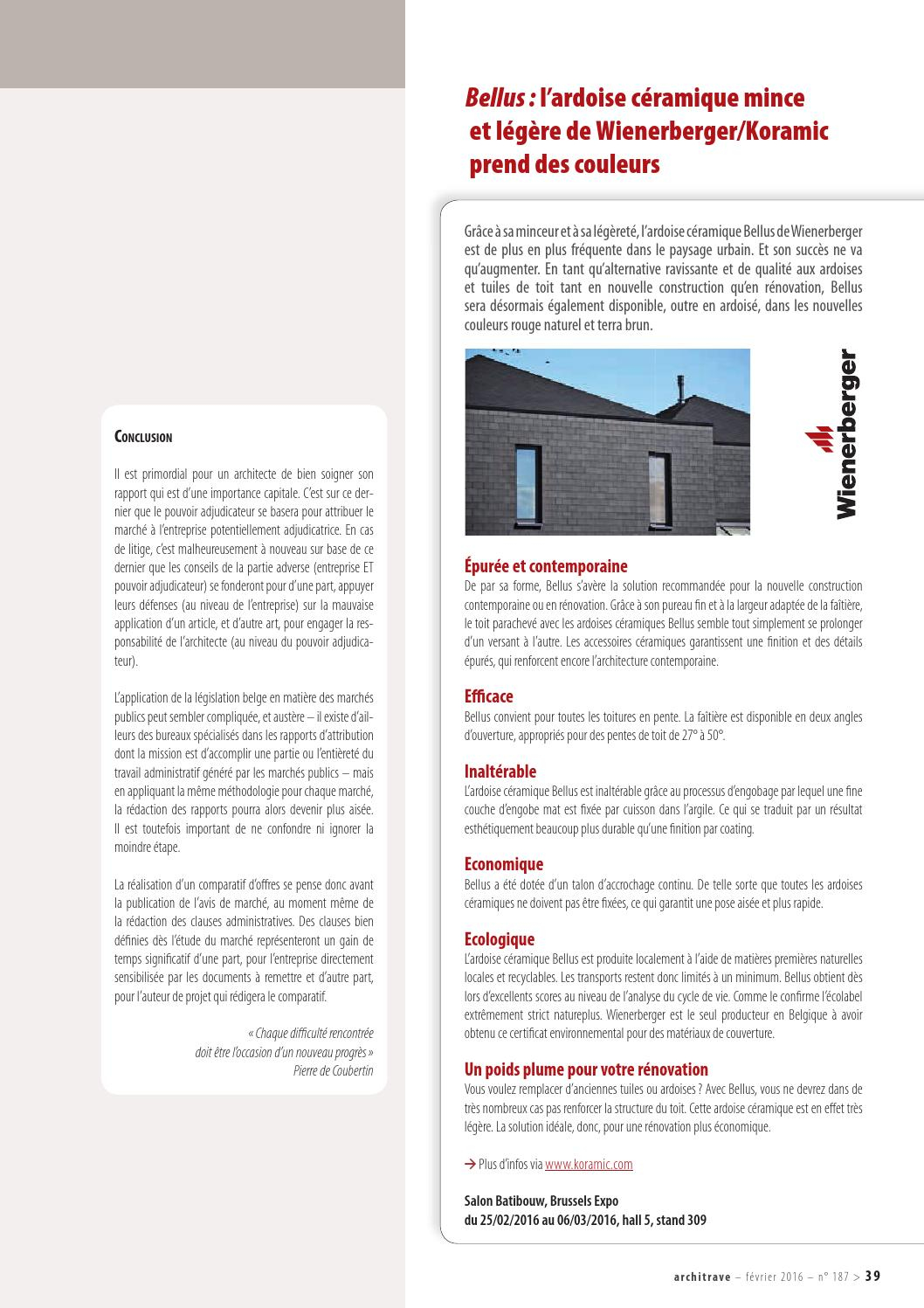 Architrave 187 Fr By Architrave Issuu