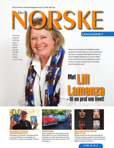 3a4138bf Norske Magasinet februar 2016 by Norrbom Marketing - issuu